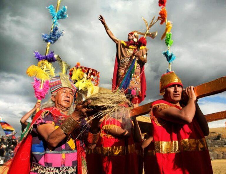 Inti Raymi Fiesta del Sol Cusco Perú