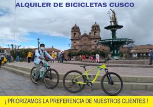 ALQUILER DE BICICLETAS A DOMICILIO CUSCO