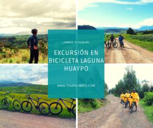 excursión en bicicleta laguna huaypo cusco