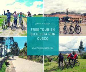 Tour en Bicicleta Gratis Cusco, free biking tour cusco