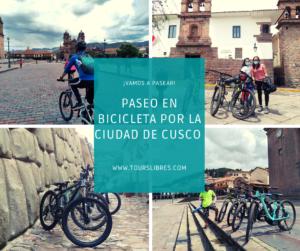 paseo en bicicleta por la ciudad de cusco
