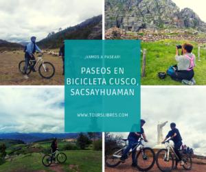 Paseo en Bicicleta Cusco por Sacsayhuaman